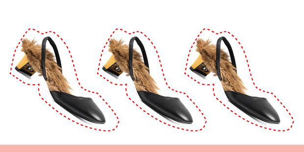Фото №2 - Дорого-дешево: туфли с мехом
