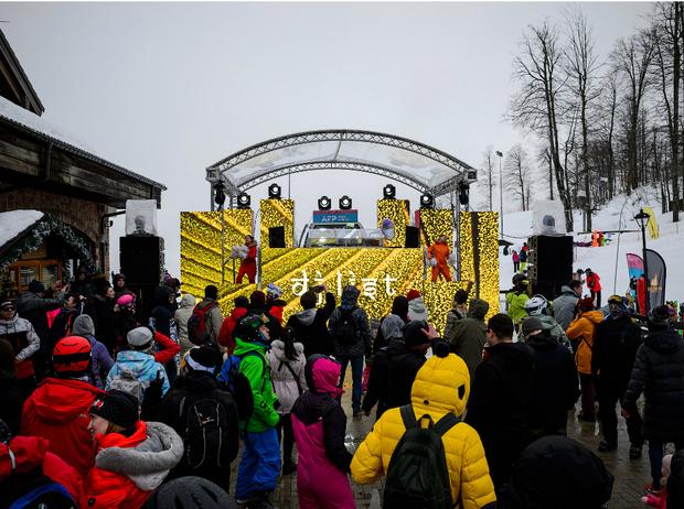 Фото №2 - Как прошел главный зимний фестиваль Alfa Future People Snow Edition
