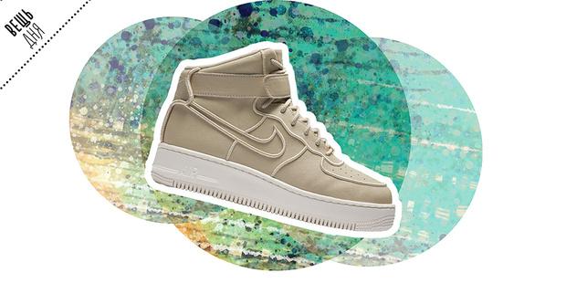 Фото №1 - Вещь дня: новые кроссовки Air Force 1 Upstep High от Nike