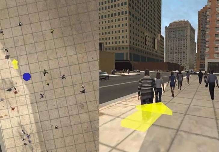 Фото №1 - Microsoft показали систему VR-очков, которые превращают окружающее пространство в компьютерную графику (видео)