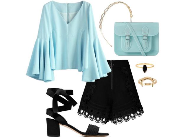 Фото №5 - Цвет настроения синий: отпускной гардероб в стиле Жасмин