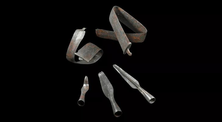 Фото №1 - Обнаружен один из крупнейший кладов оружия железного века