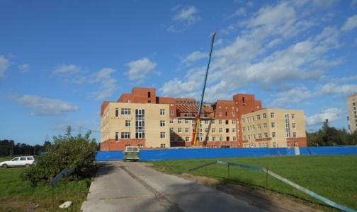 Фото №1 - Строительство тубдиспансера № 5 возобновилось. Обещают сдать в 2013 году