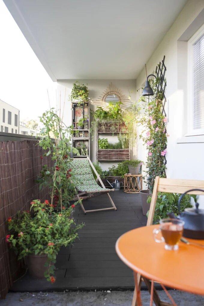 Фото №1 - Оформляем балкон: 7 бюджетных идей