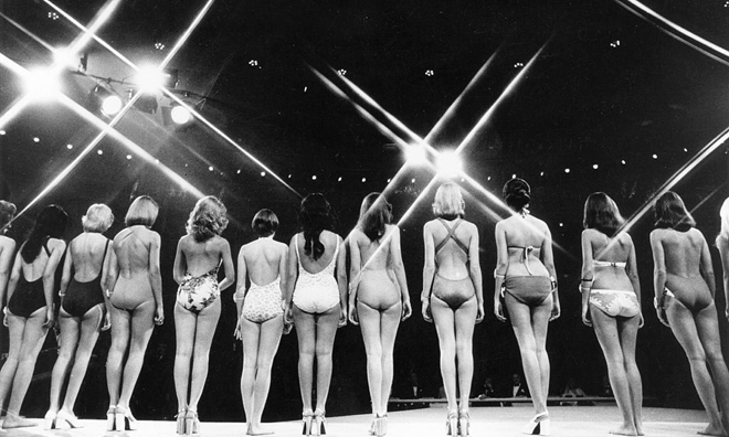 Как проходили конкурсы красоты 70 лет назад