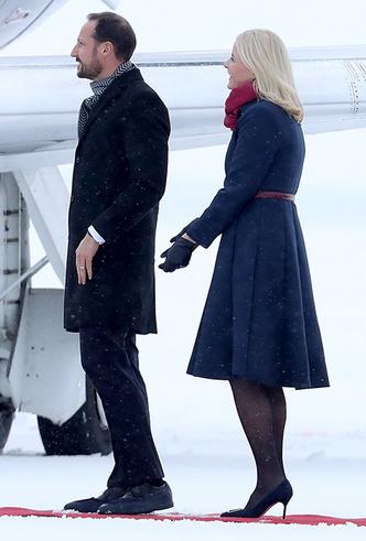 Фото №4 - Кейт Миддлтон и принц Уильям в Норвегии: день первый