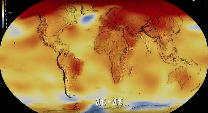 Фото №1 - 2019 год стал вторым из самых теплых в истории