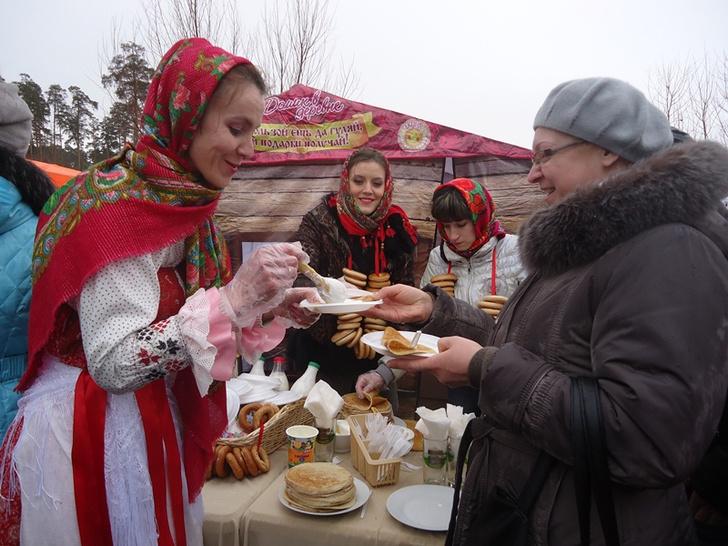 Фото №1 - В Парке Горького состоится самое масштабное масленичное шествие в России