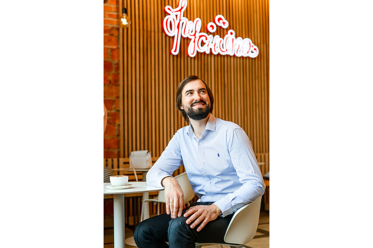Павел Мокрушин сооснователь кондитерской-кулинарии «Брусника»