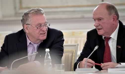 Фото №1 - Владимир Жириновский: Мы травим наших людей, и никакой Минздрав их не вылечит