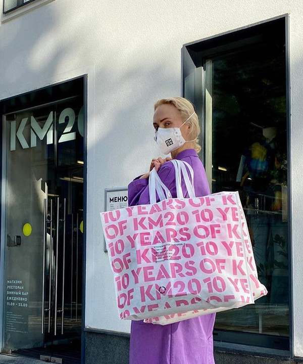 Розовый + сиреневый: Ольга Карпуть показывает, как правильно сочетать цвета этим летом