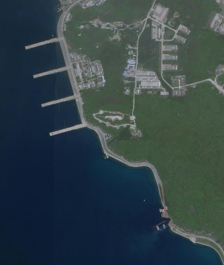 Фото №3 - Юйлинь: база атомных подлодок, которая была рассекречена благодаря случайному снимку со спутника