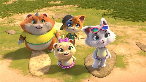 Фото №2 - Премьера мультфильма «44 котёнка» в сети «КАРО»