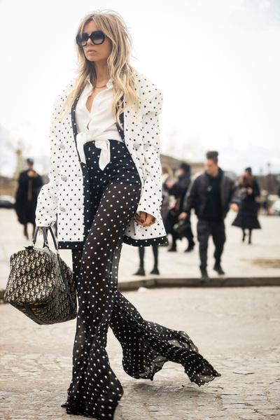 Фото №2 - Как носить гороховый принт в весеннем сезоне
