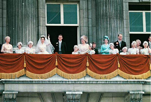 Фото №2 - Королевская свадьба #2: как выходила замуж «запасная» принцесса Маргарет