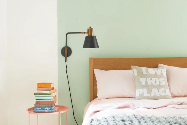 Фото №10 - Цветные сны: Color Blocking в спальне