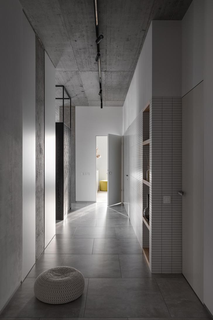 Фото №8 - Бетон + яркие акценты: квартира 166 м² в Кривом Роге