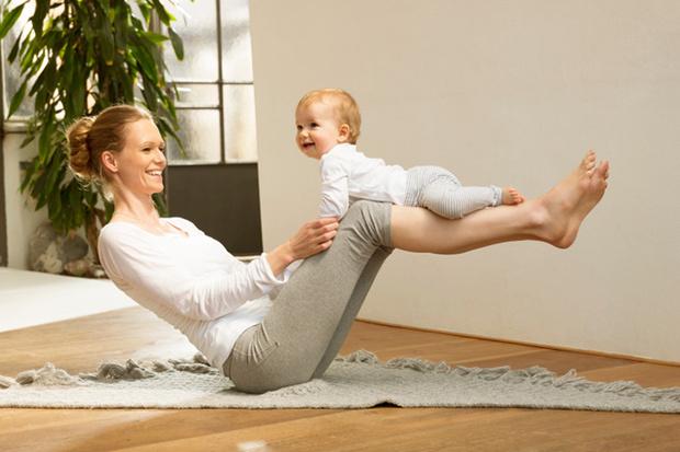 Фото №1 - Первая физкультура малыша