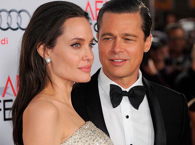 Фото №1 - Стратегия развода Бранджелины: 2:0 в пользу Джоли