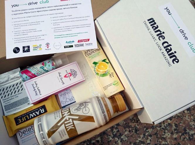 Фото №2 - Marie Claire и YouDrive дарят подарки пользователям каршеринга