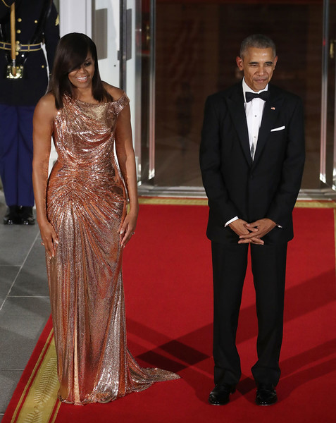Фото №15 - От супруги президента к модной иконе: эволюция стиля Мишель Обамы