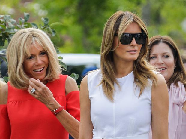 Фото №1 - G7 в Биаррице: как выглядят жены лидеров «Большой семерки»