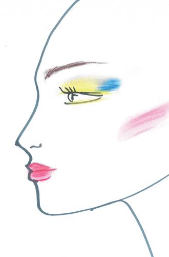 Фото №3 - Как повторить праздничный макияж Натальи Водяновой от Guerlain