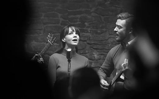 Кэри Маллиган и Джастин Тимберлейк в фильме «Внутри Льюина Дэвиса».
