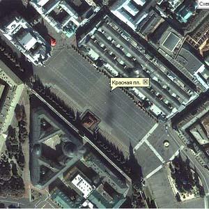 Фото №1 - Яndex запустил спутниковую карту Москвы