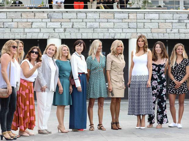 Фото №9 - G7 в Биаррице: как выглядят жены лидеров «Большой семерки»