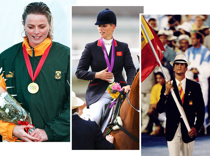 Фото №1 - Спортсмены голубых кровей: короли, принцы и принцессы на Олимпийских играх разных лет