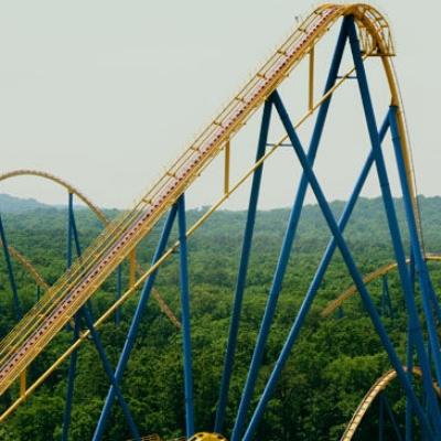 Фото №1 - Самые высокие американские горки