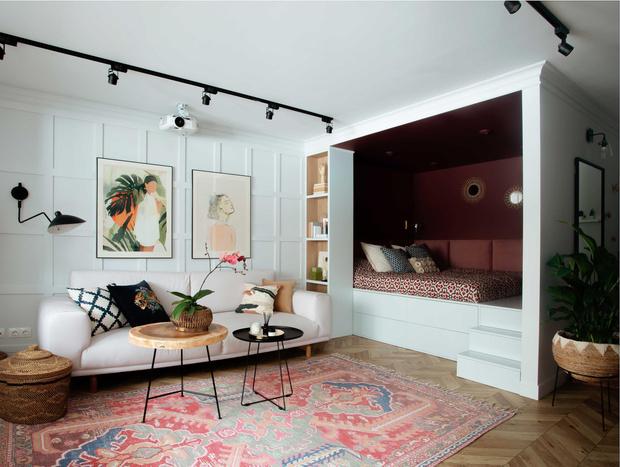 Фото №7 - Маленькая квартира в стиле бохо