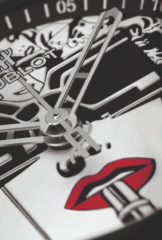 Фото №5 - Черное и белое: Hublot представили новинку Big Bang One Click Marc Ferrero