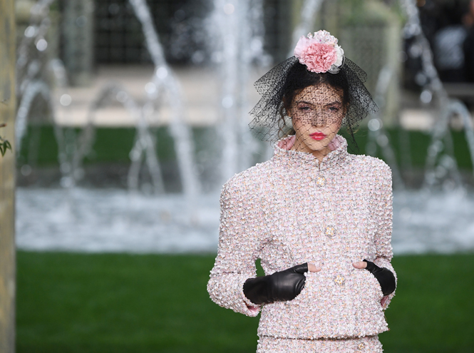 Фото №3 - Цветущий сад Карла: Chanel Haute Couture SS18