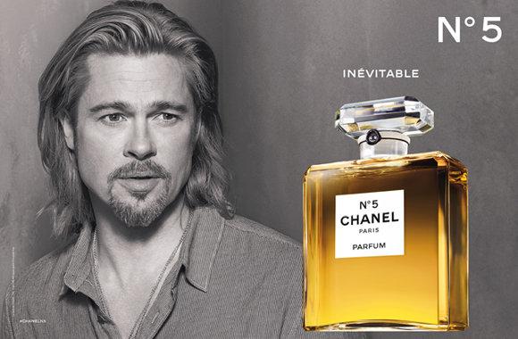 Брэд Питт – первый мужчина в рекламе Chanel № 5