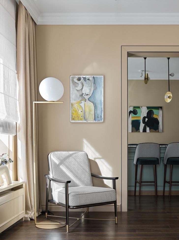 Фото №3 - Классическая квартира с яркими акцентами