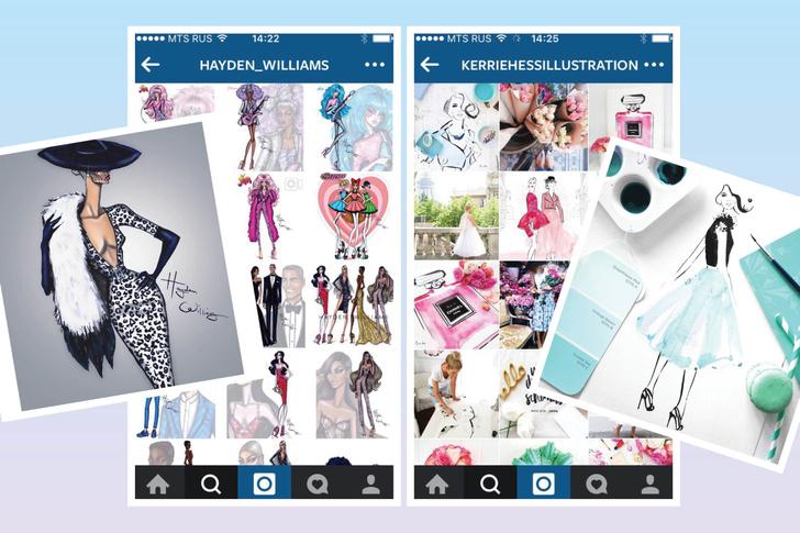 Фото №1 - 20 fashion-иллюстраторов, на которых стоит подписаться в Инстаграме
