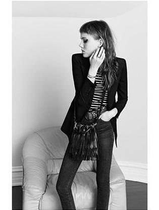 Фото №5 - Модель из рекламы Saint Laurent признали слишком худой