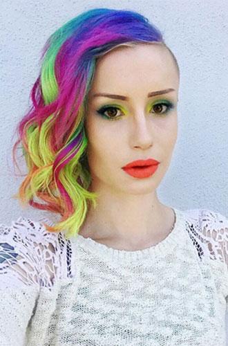 Фото №3 - Бьюти-тренд: разноцветные волосы