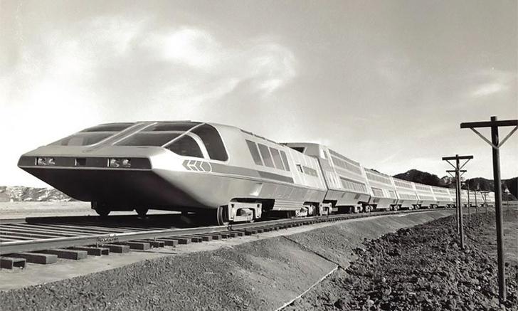 Фото №1 - История «ядерного поезда» 70-х Supertrain, который был почти как настоящий