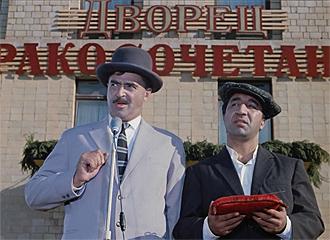 Фото №5 - Сколько сцен сейчас можно вырезать из любой киноклассики: на примере «Кавказской пленницы»