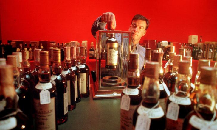 Фото №1 - Бутылка виски продана за рекордную сумму