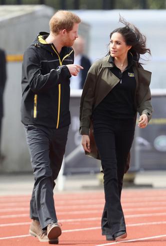Фото №4 - Меган Маркл и принц Гарри приехали на спортивное соревнование