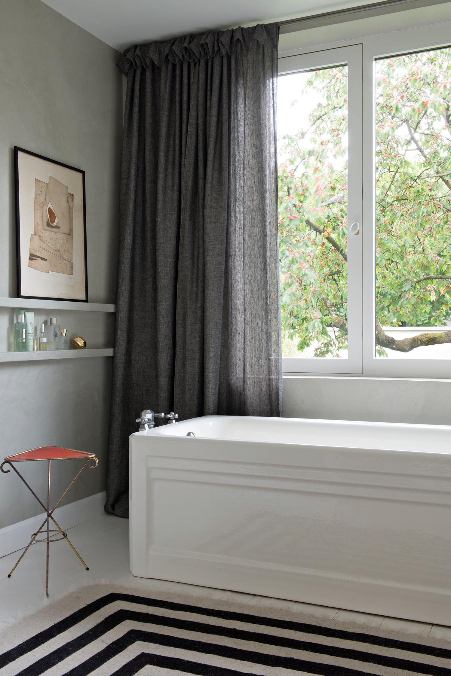 30 ванных комнат в загородных домах (галерея 0, фото 4)
