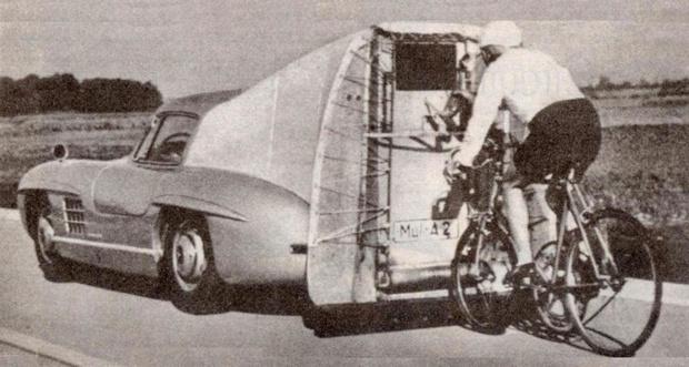 Фото №2 - Как Mercedes-Benz помог установить рекорд скорости для велосипеда— 204 км/ч