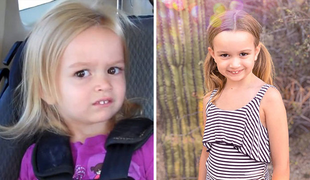 озадаченная хлоя, Side-Eyeing Chloe