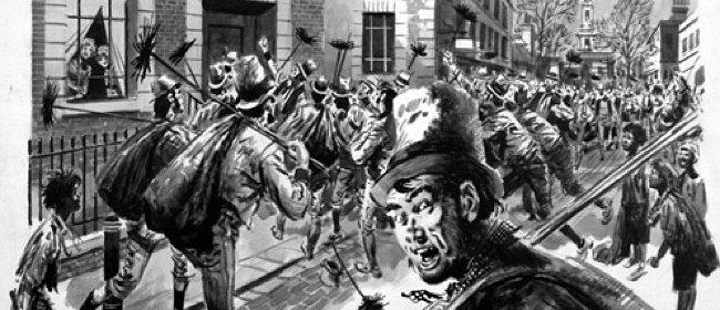 Фото №2 - История пари, которое парализовало Лондон и стало причиной первой пробки в истории городов