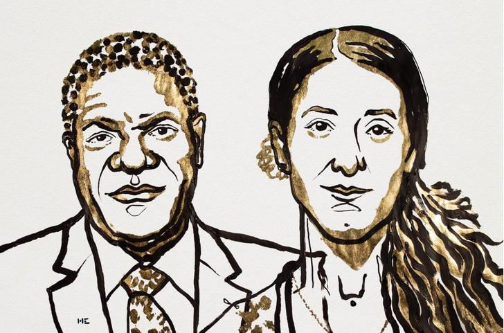 Фото №1 - Названы лауреаты Нобелевской премии мира
