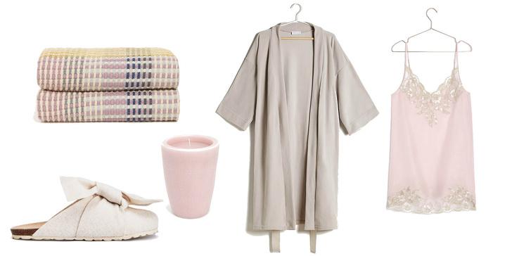 Фото №3 - Sweet dreams: 3 стильных пижамки для самых уютных выходных